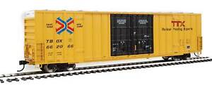 Walthers HO Scale 60' High-Cube Boxcar TTX/TBOX #662066 (Red/Next Load Any Road)