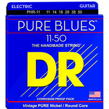 DR Strings Pure Blues Electric Guitar Strings - Heavy 11-50