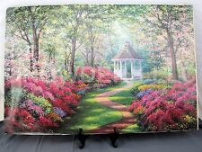 """Kevin & Wendy Schaefer-Miles 1994 """"A World Away"""" 36x24"""" Oil Painting Litho Print"""