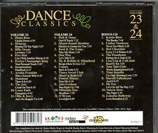 Dance Classics	Volume 23 & 24	3 CD Diana Ross Shalamar Pointer Sisters Cameo