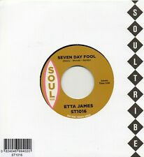 ETTA JAMES  SEVEN DAY FOOL / DOUG BANKS I JUST KEPT ON DANCING SOUL TRIBE Re-Iss