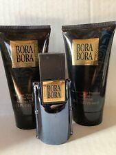 Liz Claiborne Men's Bora Bora .5 Oz Cologne Lotion Hair Gel Set Travel Size