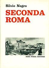 NEGRO Silvio, Seconda Roma 1850-1870