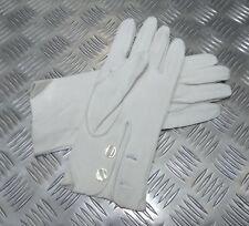 Genuine British Military Ceremonial Deerskin 3 Dart Leather Gloves - Un-issued
