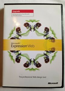 Microsoft Expression Web Upgrade -FrontPage, Professional Web Design Tool 2007