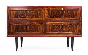 Danish Mid Century Rosewood Chest of Drawers