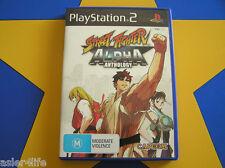 STREET FIGHTER ALPHA ANTHOLOGY - PLAYSTATION 2 - PS2