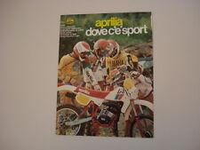 advertising Pubblicità 1982 MOTO APRILIA RX 50