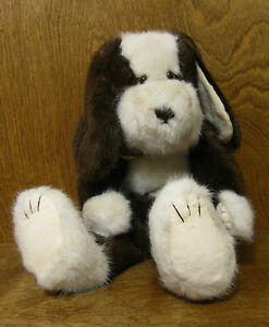 """Boyds Plush #540300-05 CARSON B  BARKER 16"""" NEW From Retail Store, Jointed DOG"""