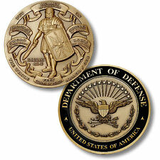 Department of Defense / Armor of God - DoD High Relief Challenge Coin