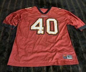Mike Alstott Tampa Bay Buccaneers Nike NFL Football Jersey Mens Large