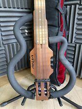 More details for aria sinsonido travel/practice bass guitar -  with original gig bag