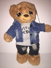 Justin Bieber Jacket Purpose World Tour Limited Edition 2400 Made Build-A-Bear