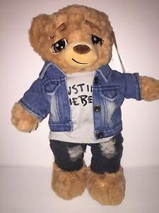 Justin Bieber Purpose World Tour Limited Edition 2400 Build A Bear Easter Basket