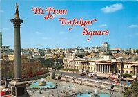 B87674 hi from trafalgar square   london uk