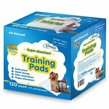 17.5 23.5 All-Absorb Puppy Training Pad Dog Pet Cat Absorb Urine Dry Holder Odor Toilet 120 851937005046