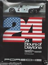 Porsche Gulf 917 Blechschild 24 Hours of Daytona  20 x 15 cm Museum Edition neu