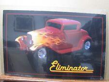 Vintage Hot Rod Ford Eliminator Model Poster 1988 Car Garage Inv#G369