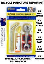 Bicycle Puncture Repair Kit Bike Tyre Levers Cycle Spanner Tool good quality Kit