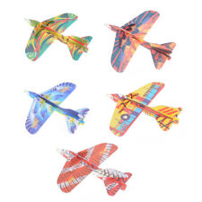 DIY Hand Throw Flying Glider Planes Foam Bag Fillers Childrens Kids Toys LC