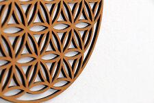 Blume des Lebens - Schriftzug Holz Deko Schrift Schriftzug Wand