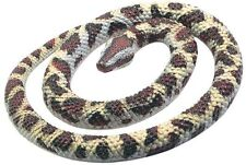 "NEW WILD REPUBLIC 22"" ROCK PYTHON RUBBER SNAKE TOY REPLICA CAT SCARER DETERRENT"