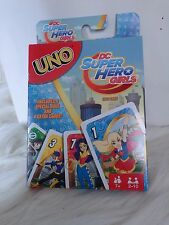 DC SUPER HERO GIRLS UNO CARD GAME COLORFUL