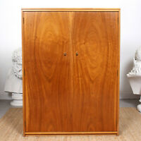 Vintage Wardrob Mcm Large Double Wardrobe Retro