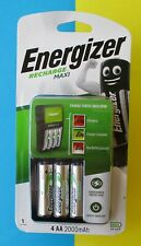 ENERGIZER RECHARGE BATTERY MAXI CHARGER CHVCM4 BRAND NEW FREE POSTAGE EXCELLENT