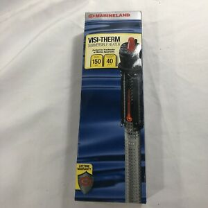 Marineland Visi-Therm Submersible Heater - 150 Watts - Up To 40 Gallon