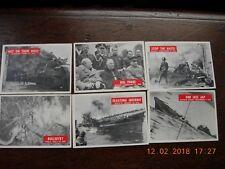 1965 WAR BULLETIN WORLD WAR II PHILADELPHIA GUM CARDS