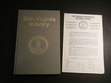 H E HOWARD 30th Virginia Infantry, 1st edition NO DJ, signed by author - #143