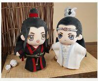 Grandmaster of Demonic Cultivation The Untamed Wuxian Wangji 20cm 陈情令 Plush Doll