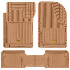 Cat Car Rubber Floor Mats All Weather Liner 3 Pieces Heavy Duty Set Trim Fit Fits 2003 Honda Pilot
