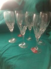 Gorham Diamonds set Of 6 Champagne Classes Pristine