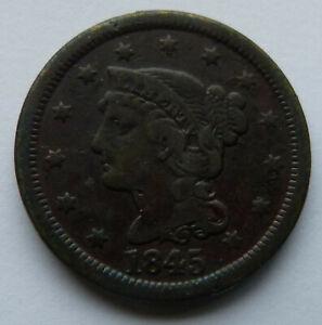 1845 Liberty Head Large Cent