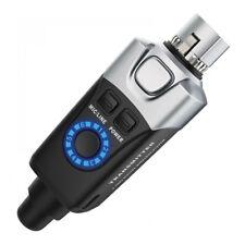 Xvive XU-3 Wireless Radio Plug In Microphone System Battery XLR Radio Mic