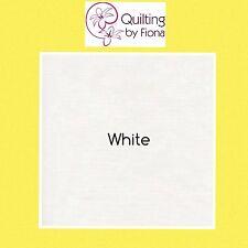 "12 x 10"" White PreCut Layer Cake Fabric Squares, 10 inch, 10"" x 10"", Cotton"