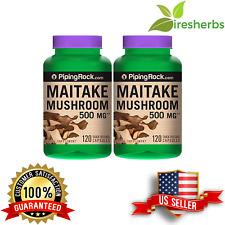 MAITAKE MUSHROOM 500MG EXTRACT ANTI AGING IMMUNE HEALTH HERB SUPPLEMENT 240 CAPS