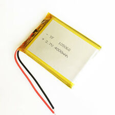 4000mAh Lipo Rechargeable Li Battery3.7V for power bank Tablet PC Laptop 105068