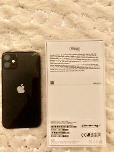 Apple iPhone 11 - 128GB - Black (Unlocked) A2221 (CDMA + GSM) Unlocked.