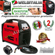 SALDATRICE FILO INVERTER TELWIN TECHNOMIG 150 DUAL SYNERGIC150A 230V cod. 816050