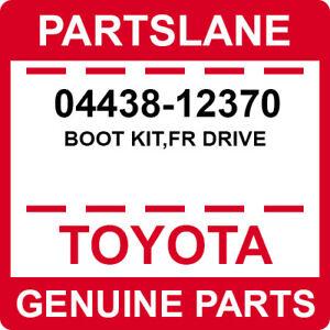 04438-12370 Toyota OEM Genuine BOOT KIT,FR DRIVE