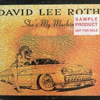 David Lee Roth - She's My Machine card sleeve CD Single Australia (promo label)