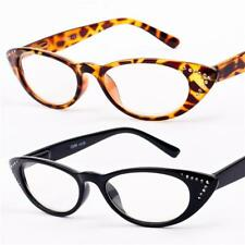 New Womens Cat Eye Reading Glasses +1 +1.25 +1.5 +1.75 +2.25 +2.5 +3 +3.5 R69