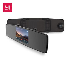 YI Mirror Dash Cam Dual Dashboard Camera Recorder Touch Screen Front Rear View