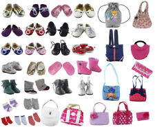 Random Lot Doll Accessory,5 shoes+5 bags+5 socks Fit 18 Inch American Girl Doll