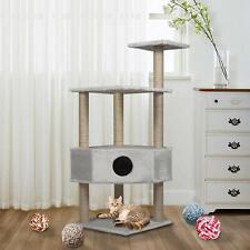 "Vilobos 50"" Cat Tree Scratching Tower Post Condo Kitten Furniture Pet Play House"