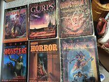 Gurps Lot Monsters Undead Horror Psionics Basic Gm Screen Compendium
