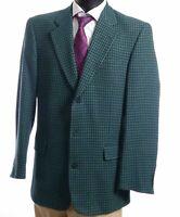 JOOP! Sakko Jacket Gr.98 grün kariert Einreiher 3-Knopf -S383